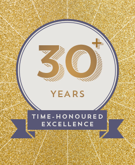 30 years time honoured excellence') }}